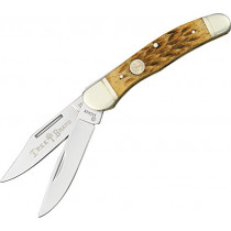 Boker Ts Copperhead Pocket Knife with Two Blades, Brown  (110723)