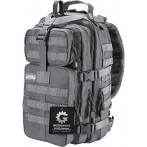 Barska Barska Loaded Gear GX-400 Crossover Low Profile Backpack, Gray