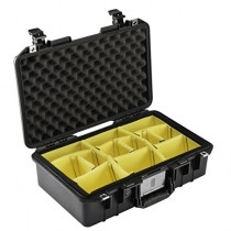 Pelican 1485 Air Lightweight Watertight Case with Padded Dividers, Black