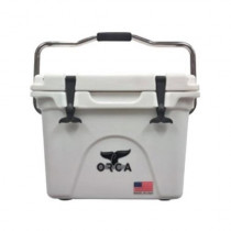 ORCA Extra Heavy Duty Cooler, White, 20-Quart (654900)
