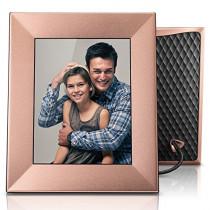 """Nixplay Iris 8"""" Wi-Fi Cloud Frame (W08E - Peach Copper)"""