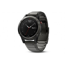 Garmin Fenix 5 Sapphire - Slate Gray with Metal Band