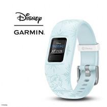 Garmin vívofit Jr 2, Kids Fitness/Activity Tracker, 1-Year Battery Life, Adjustable Band, Disney Frozen 2, Elsa, Light Blue