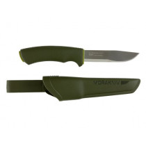 Morakniv Bushcraft Forest Fixed Blade Outdoor Knife with Sandvik Stainless Steel Blade, 4.3-Inch