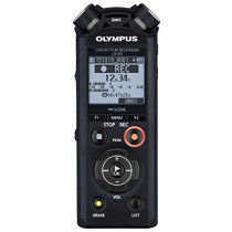 Olympus V414151BU000 Linear Pcm LS-P2 Voice Recorder
