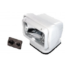 Go Light Permanent Mount Searchlight with Hard Wired Dash Remote, White (793523020203)