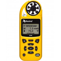 Kestrel 5500 Weather Meter with LiNK and Vane Mount, Yellow (730650001958)