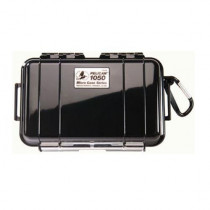 Pelican 1050 Watertight Hard Micro Case with Rubber Liner - Black
