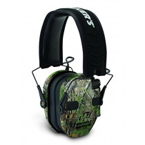 Walkers Game Ear Electronic Ear Muff Razor Quad Camo Muff