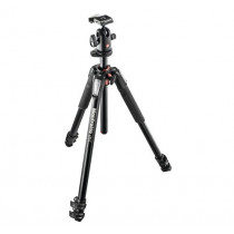 Manfrotto MK055XPRO3-BH 055 Kit Aluminium 3-Section Horizontal Column Tripod with Ball Head