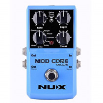 NUX MOD Core DELUXE Chorus/Flanger/Phaser/Rotary Guitar Effect Pedal 8 Modulation Effects Preset Tone Lock  885947101849
