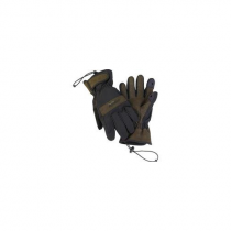 "Aquatech Sensory Gloves, Size: Large, 8-8.5"" - Black/Moss [Camera]"