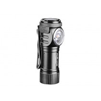 Fenix Flashlights, LD Series LED Flashlight, Model 15R, Right Angled Rechargeable, 500 Lumens, Black (6942870305851)