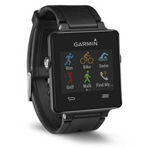 Garmin Vivoactive Black bundle (Includes Heart Rate Monitor)