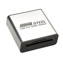 Hoodman Steel USB3 Reader CF/ SD