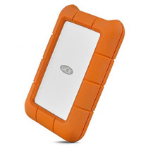 LaCie Rugged USB-C and USB 3.0 4TB Portable Hard Drive - STFR4000800