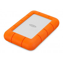 LaCie Rugged Mini USB 3.0 / USB 2.0 4TB External Hard Drive (9000633)