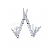 Leatherman - Micra, Keychain Size Multitool, Stainless Steel