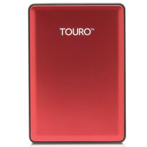 Hitachi Touro S 500GB 7200RPM High-Performance Portable Drive - Red 0S03782
