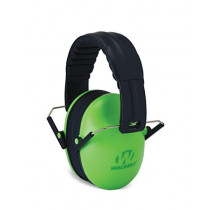 Walker's Children-Baby & Kids Hearing Protection/Folding Ear Muff, Lime Green