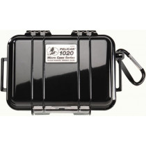 Pelican 1020 Solid Black Microcase