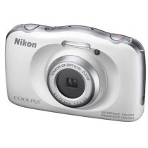 Nikon Coolpix W150 13.2MP Full HD Point & Shoot Camera, 3X Optical Zoom, White