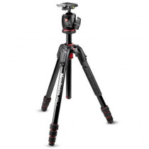 Manfrotto 190go! M-Series 4-Section Twist Lock Aluminum Tripod with XPRO Ball Head, RC2 Quick-Release System