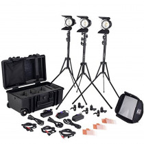 Litepanels Sola ENG Flight Kit | Complete LED Fresnel Lighting Kit (906-1030)