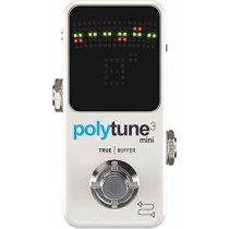 TC Electronic Guitar Pedal Tuner (Polytune 3 Mini)