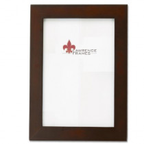 Lawrence Frames Walnut Wood 4 by 6 Picture Frame