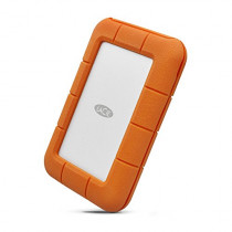 LaCie Rugged Secure 2TB USB-C All-Terrain Encrypted Portable Hard Drive (STFR2000403)