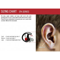 SureFire EP7 Sonic Defenders Ultra - Hearing Protectors (1 Pair, Black, Size:...