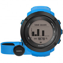 Suunto Ambit 3 Vertical HR Heart Rate Monitors Outdoor Sports Watches - Blue, One Size