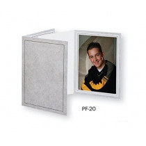 TAP Picture Folder Frame PF-20, for 4x6 Photo. Color: Gray Marble (100 Pack)