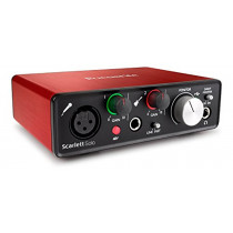 Focusrite Scarlett Solo (2nd Gen) USB Audio Interface with Pro Tools | First  815301008439