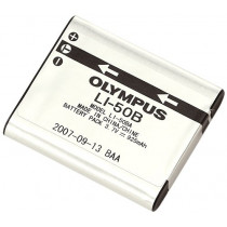 Olympus LI-50B Rechargeable Battery (Silver) [Camera]