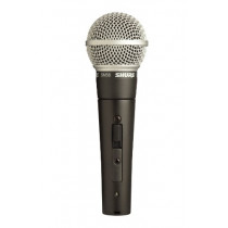 Shure SM58S Vocal Microphone (with On Off Switch)  042406051279