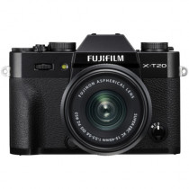 Fujifilm X-T20 Wi-Fi Digital Camera & 15-45mm XC OIS PZ Lens (Black)