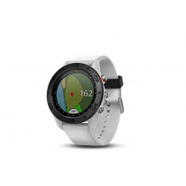 Garmin Approach S60 GPS golf watch with white silicone band
