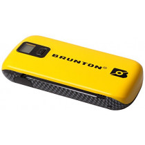 Brunton #Metal-YL Metal 4400 Power Pack AC/USB Charging Device, Yellow