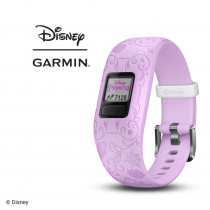 Garmin vívofit jr 2, Kids Fitness/Activity Tracker, Disney Princess, Purple, 1-Year Battery Life