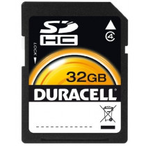 Duracell 32 GB Class 4 Secure Digital Card DU-SD-32GB-R