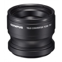 Olympus V321180BW020    Telephoto Tough Lens Pack for Camera (Black with Res ...
