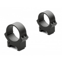 Leupold 30mm PRW Mounting Ring Set (High, Matte-Black) (54177)
