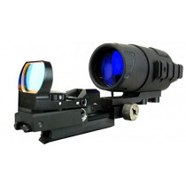 Bering Optics eXact Precision Gen I Night Vision kit with a Sensor Reflex Sight Combo, Black (850432003250)