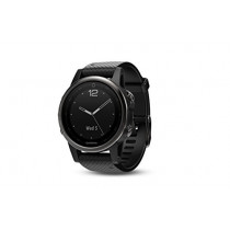 Garmin Fenix 5S Sapphire - Black with Black Band
