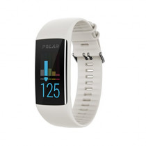 Polar A370 Fitness Tracker with 24/7 Wrist Based HR, White, Medium/Large