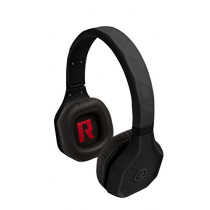 Bluetooth Headphones, Rhinos by Outdoor Tech, Rugged Wireless Waterproof Over-Ear Earphone with Built-in Mic - Black (818389013951)