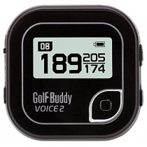 GolfBuddy Voice 2 GPS Golf Buddy New, Black