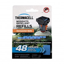 Thermacell M-48 Backpacker Mat-Only Refill, 48 Hour Pack (12 Repellent Mats)